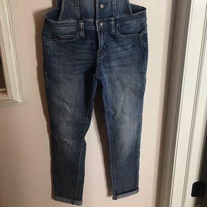 KanCan Skinny jean overalls
